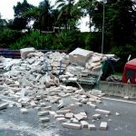 ¿Se ha visto involucrado en un accidente con un camión de mercancías?
