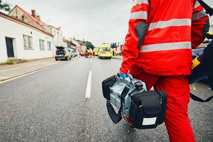 Lesiones por accidente de tráfico